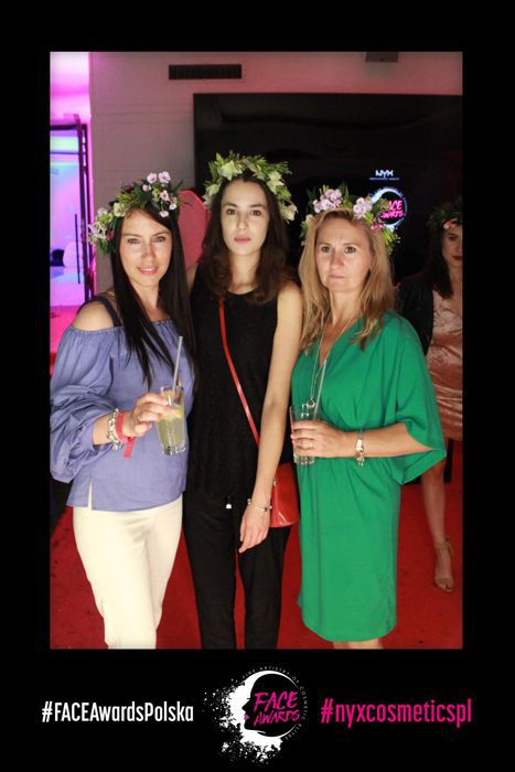 GIFbudka Magic Mirror - event FACE Awards Warszawa