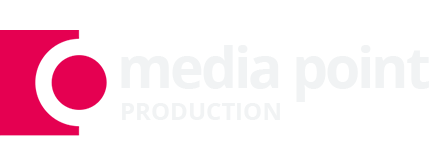 Logo Media Point Production - Wynajem Fotobudki, Magic Mirror (Fotolustro), Gifbudka
